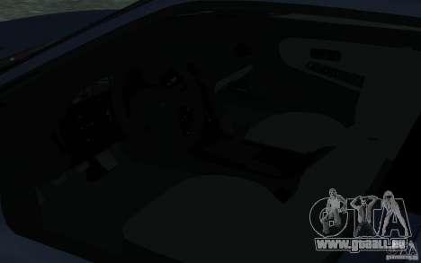 Nissan Onevia (Silvia) S13 pour GTA San Andreas vue intérieure