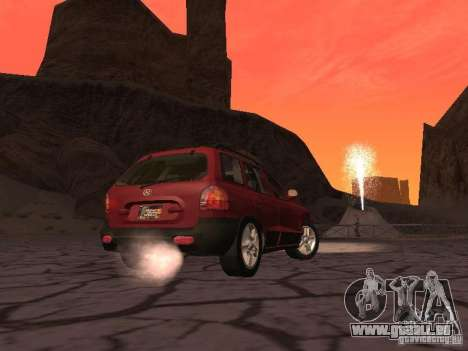 Hyundai Santa Fe Classic pour GTA San Andreas vue de droite