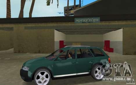 Audi Allroad Quattro pour une vue GTA Vice City de la gauche