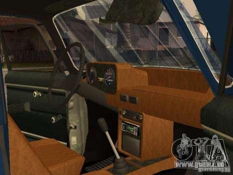 Moskvich 412-4 x 4 für GTA San Andreas Seitenansicht
