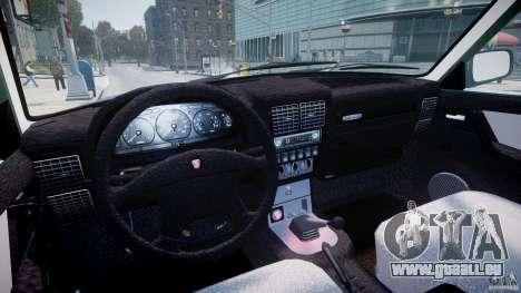GAZ 31105 für GTA 4 Unteransicht