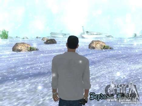 Snow MOD HQ V2.0 für GTA San Andreas dritten Screenshot