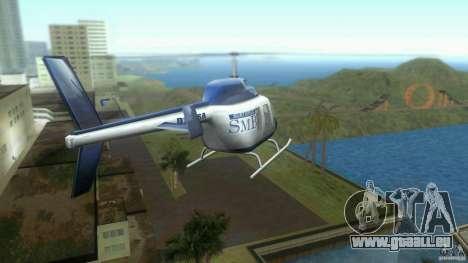 SubtopiCo SMB Maverick pour GTA Vice City sur la vue arrière gauche