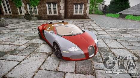 Bugatti Veyron Grand Sport [EPM] 2009 für GTA 4