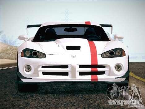 Dodge Viper SRT-10 ACR pour GTA San Andreas roue