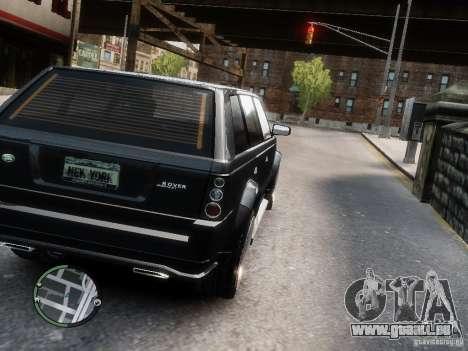 Land Rover SPORT 4.2L für GTA 4 linke Ansicht
