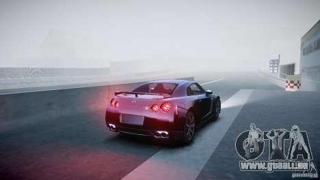 Nissan GT-R R35 V1.2 2010 pour GTA 4 est un droit