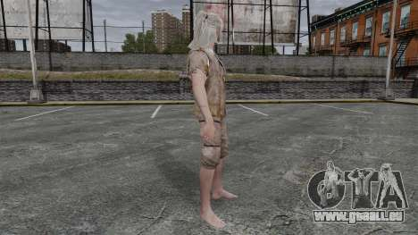 Geralt de Rivia v6 pour GTA 4 secondes d'écran