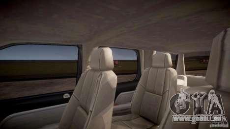 Chevrolet Tahoe 2012 NYPD pour GTA 4 est une vue de dessous