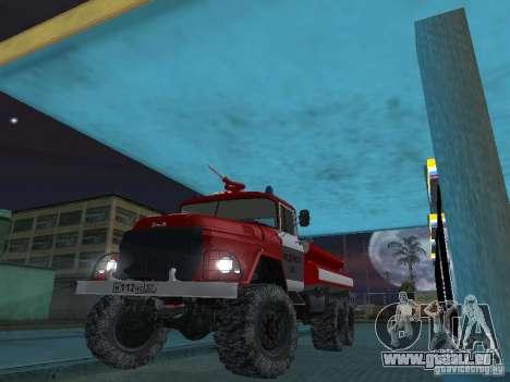 ZIL 131 AC-20 pour GTA San Andreas vue intérieure