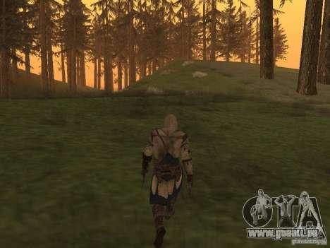 Connor From ACIII für GTA San Andreas her Screenshot