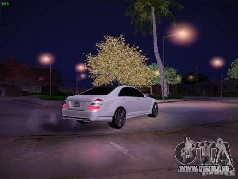 Mercedes-Benz S65 AMG V2.0 für GTA San Andreas Seitenansicht