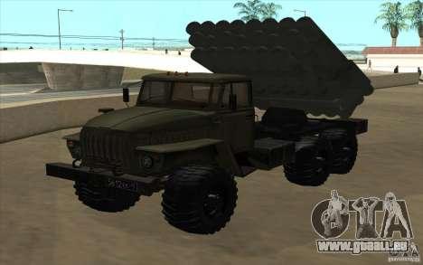 Ural 4320 Grad v2 pour GTA San Andreas