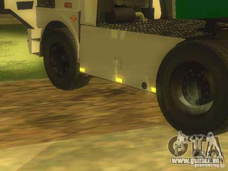 MAZ 5432 Turbo pour GTA San Andreas laissé vue