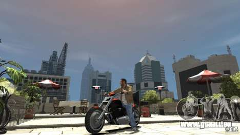 The Lost and Damned Bikes Revenant für GTA 4 linke Ansicht