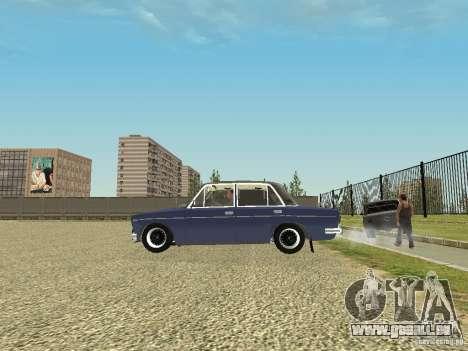 VAZ 2106 vieux pour GTA San Andreas laissé vue