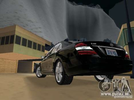 Mercedes-Benz S600 pour GTA San Andreas salon