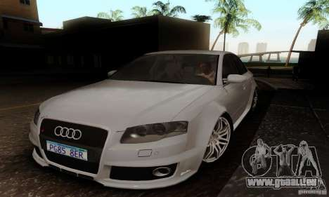 Audi RS4 2007 für GTA San Andreas