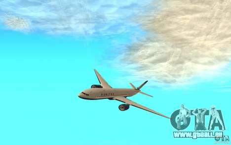 Boeing 777-300ER für GTA San Andreas