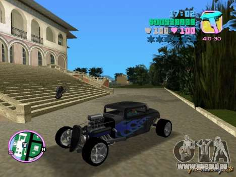 Ford Coupe Hotrod 34 pour GTA Vice City