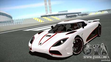 Koenigsegg Agera R 2012 pour GTA San Andreas