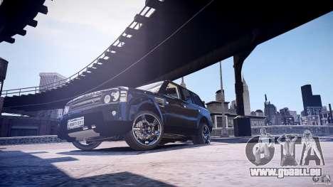 Range Rover Sport pour GTA 4 Vue arrière de la gauche