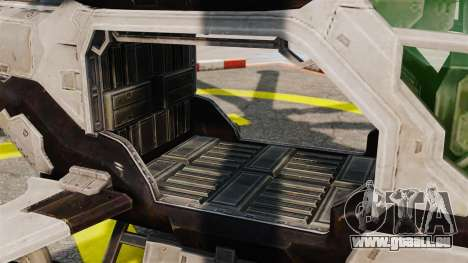 Hélicoptère C.E.L.L. pour GTA 4 est une vue de l'intérieur