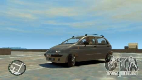 Daewoo Matiz Style 2000 pour GTA 4 est un droit