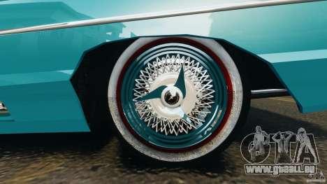 Ford Thunderbird Light Custom 1964-1965 v1.0 pour GTA 4 est une vue de dessous