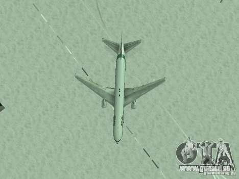 Boeing 767-300 Alitalia pour GTA San Andreas vue de côté