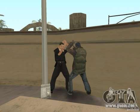 Clochards fous pour GTA San Andreas quatrième écran