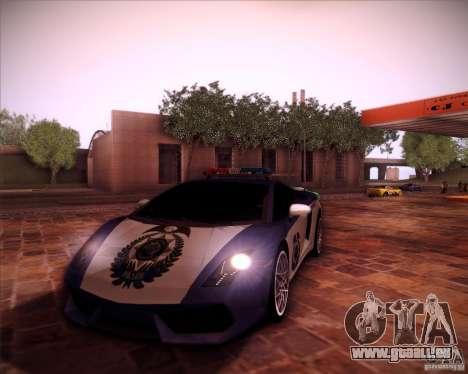 Lamborghini Gallardo LP560-4 Undercover Police pour GTA San Andreas