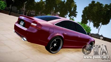 Audi RS6 pour GTA 4 est une gauche