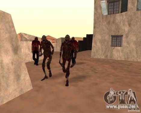 Zombie Half life 2 pour GTA San Andreas troisième écran