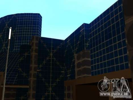 Immeuble neuf dans LS pour GTA San Andreas deuxième écran