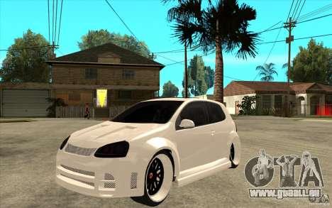 VW Golf 5 GTI Tuning für GTA San Andreas