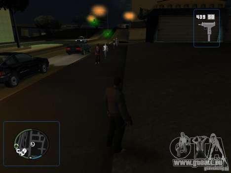 HUD et les armes de GTA IV pour GTA San Andreas troisième écran
