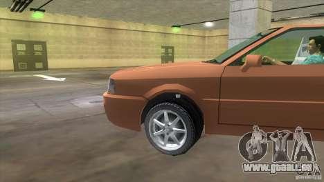 Audi S2 für GTA Vice City rechten Ansicht