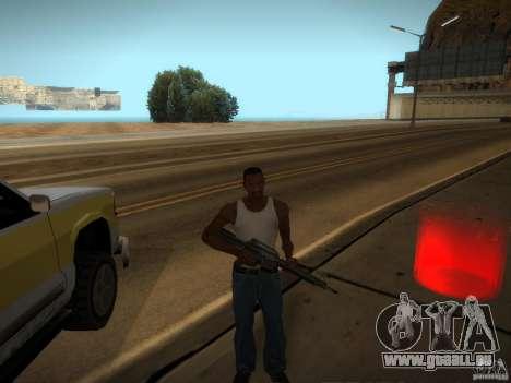 Luxville-carte de Point Blank pour GTA San Andreas deuxième écran