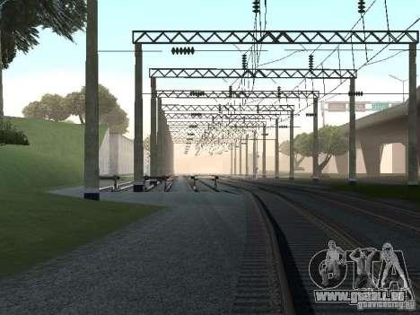 Kontakt Netzwerk für GTA San Andreas achten Screenshot