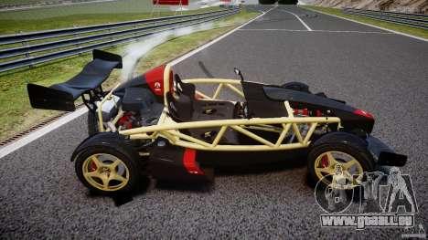 Ariel Atom 3 V8 2012 pour GTA 4 est un côté