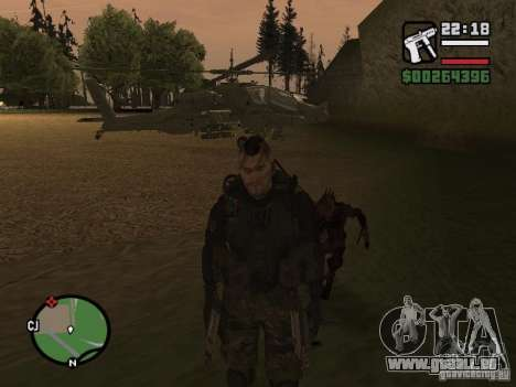 Chupacabra pour GTA San Andreas deuxième écran