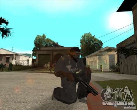 Resident Evil 4 weapon pack für GTA San Andreas achten Screenshot