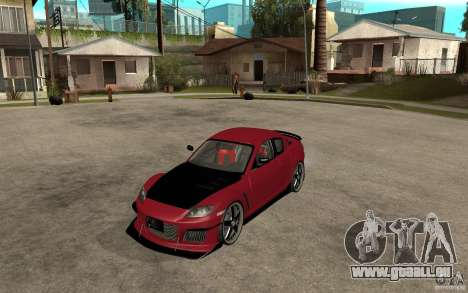 Mazda RX-8 Time Attack JDM pour GTA San Andreas