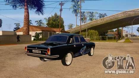 GAZ Volga 24 pour GTA San Andreas vue de droite