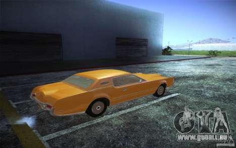 Lincoln Continental Mark IV 1972 pour GTA San Andreas vue de droite