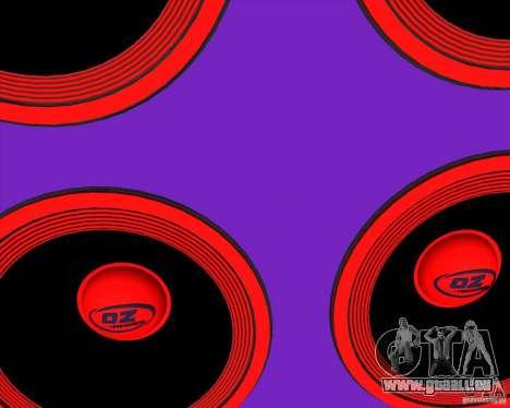 VAZ 2109 Drift für GTA San Andreas Seitenansicht