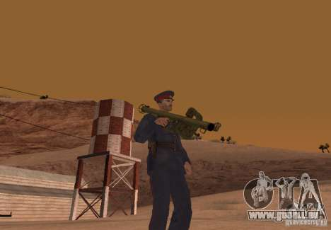Panzerschreck pour GTA San Andreas
