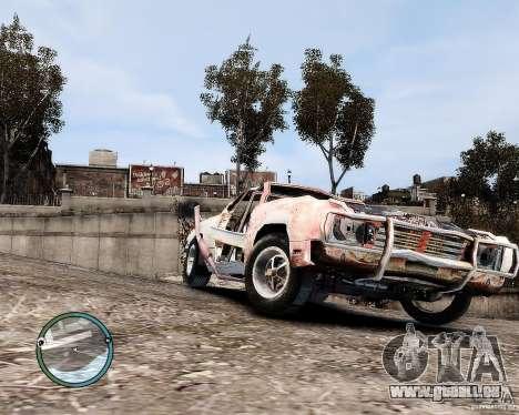 Flatout Shaker IV für GTA 4 linke Ansicht