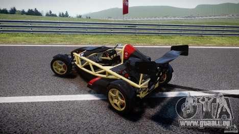 Ariel Atom 3 V8 2012 pour GTA 4 vue de dessus
